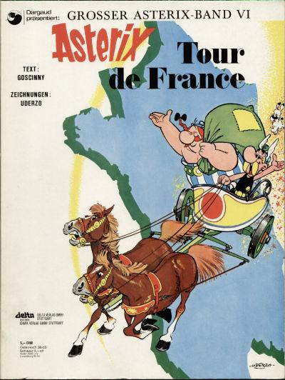 Cover for Asterix (Egmont Ehapa, 1968 series) #6 - Tour de France