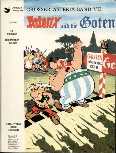 Cover for Asterix (Egmont Ehapa, 1968 series) #7 - Asterix und die Goten [3,50 DM]