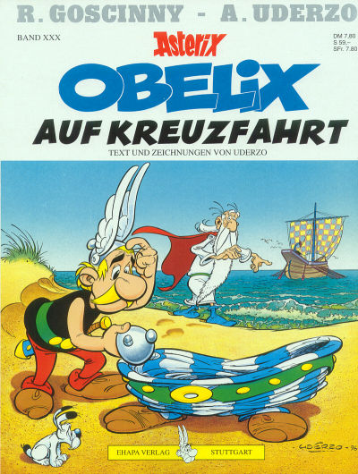 Cover for Asterix (Egmont Ehapa, 1968 series) #30 - Obelix auf Kreuzfahrt