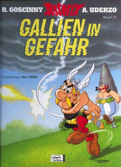 Cover for Asterix (Egmont Ehapa, 1968 series) #33 - Gallien in Gefahr