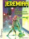 Cover for Jeremiah (Novedi, 1982 series) #[5] - Het eindeloos experiment