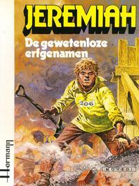 Cover Thumbnail for Jeremiah (Novedi, 1982 series) #3 - De gewetenloze erfgenamen