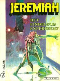 Cover Thumbnail for Jeremiah (Novedi, 1982 series) #[5] - Het eindeloos experiment