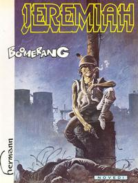 Cover Thumbnail for Jeremiah (Novedi, 1982 series) #10 - Boomerang