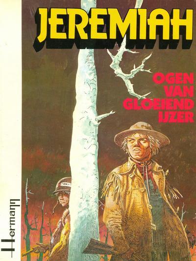 Cover for Jeremiah (Novedi, 1982 series) #4 - Ogen van gloeiend ijzer