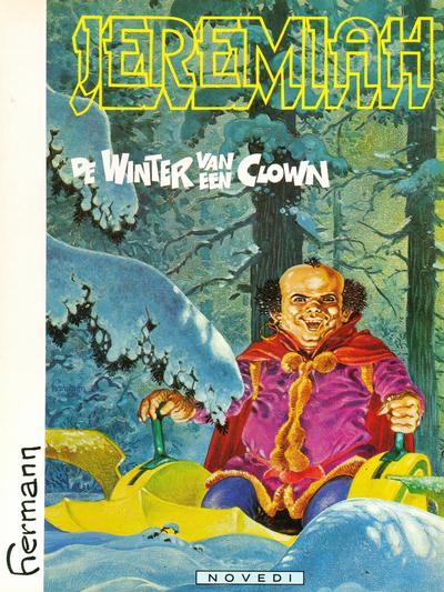 Cover for Jeremiah (Novedi, 1982 series) #9 - De winter van een clown