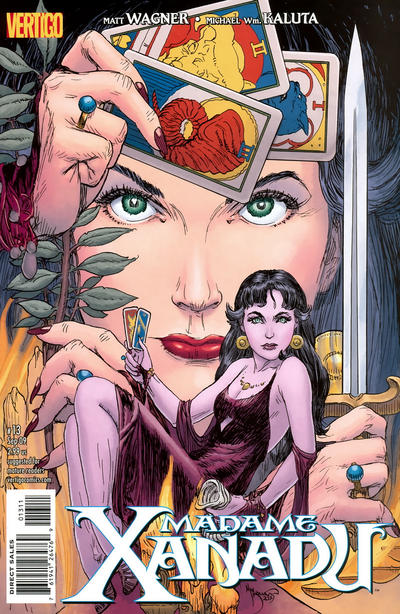 Cover for Madame Xanadu (DC, 2008 series) #13