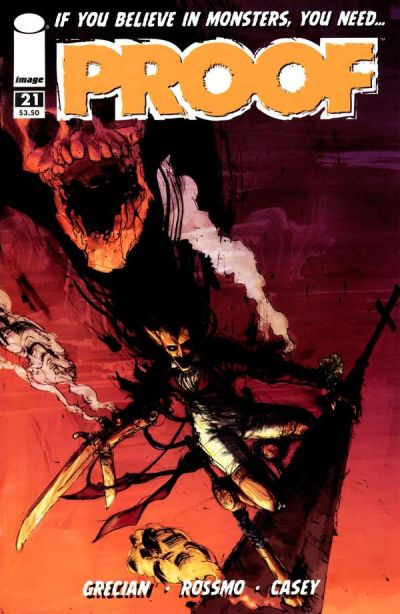 Cover for Proof (Image, 2007 series) #21