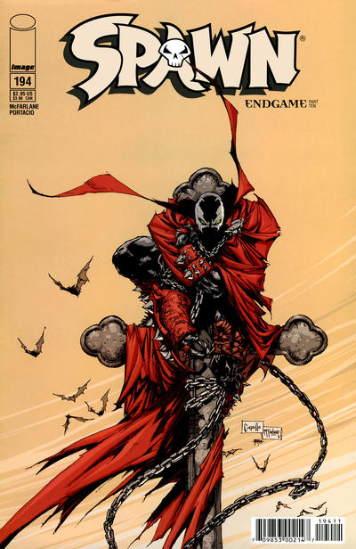 Cover for Spawn (Image, 1992 series) #194