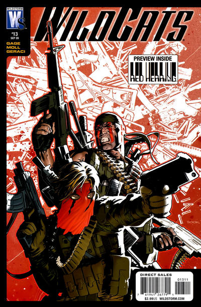 Cover for Wildcats (DC, 2008 series) #13