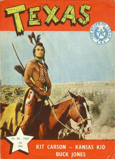 Cover for Texas (Serieforlaget / Se-Bladene / Stabenfeldt, 1953 series) #50/1957