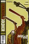 Cover for Unknown Soldier (DC, 2008 series) #10