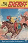 Cover for Der kleine Sheriff (Pabel Verlag, 1957 series) #85