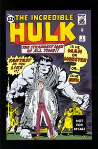 Cover Thumbnail for Hulk Vol. 1 No. 1 [Marvel Legends Reprint] (Marvel, 2004 series)
