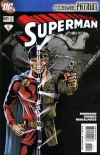 Cover for Superman (DC, 2006 series) #691