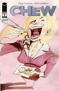 Cover Thumbnail for Chew (Image, 2009 series) #3 [First Printing]