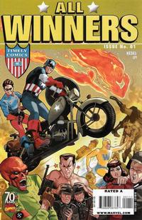 Cover for All Winners Comics 70th Anniversary Special (Marvel, 2009 series) #1