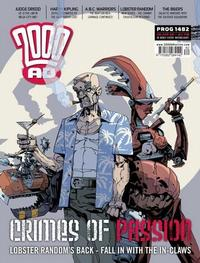 Cover Thumbnail for 2000 AD (Rebellion, 2001 series) #1482