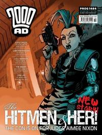 Cover Thumbnail for 2000 AD (Rebellion, 2001 series) #1484