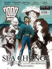 Cover Thumbnail for 2000 AD (Rebellion, 2001 series) #1487