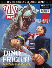 Cover Thumbnail for 2000 AD (Rebellion, 2001 series) #1491