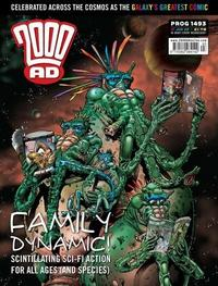 Cover Thumbnail for 2000 AD (Rebellion, 2001 series) #1493