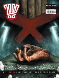 Cover Thumbnail for 2000 AD (Rebellion, 2001 series) #1494