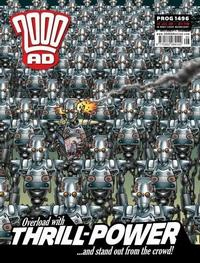Cover Thumbnail for 2000 AD (Rebellion, 2001 series) #1496