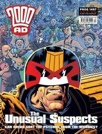 Cover Thumbnail for 2000 AD (Rebellion, 2001 series) #1497