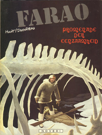 Cover for Farao (Novedi, 1981 series) #4 - Promenade der eenzaamheid