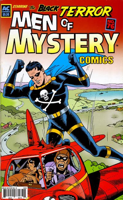 Cover for Men of Mystery Comics (AC, 1999 series) #76