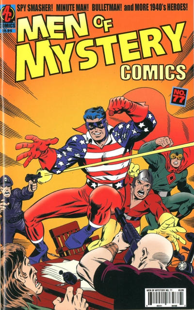 Cover for Men of Mystery Comics (AC, 1999 series) #77