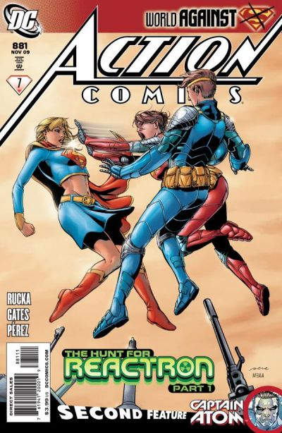 Cover for Action Comics (DC, 1938 series) #881
