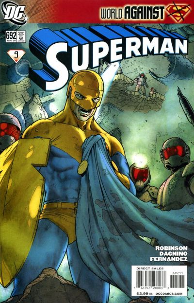 Cover for Superman (DC, 2006 series) #692