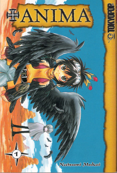 Cover for +Anima (Tokyopop, 2006 series) #1