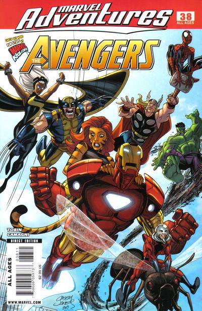 Cover for Marvel Adventures The Avengers (Marvel, 2006 series) #38