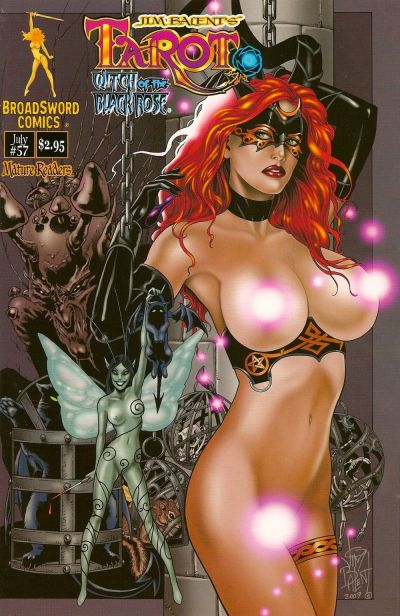 Cover for Tarot: Witch of the Black Rose (Broadsword, 2000 series) #57 [Cover C]