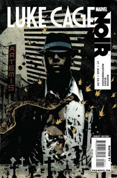 Cover for Luke Cage Noir (Marvel, 2009 series) #1 [Dennis Calero Variant]