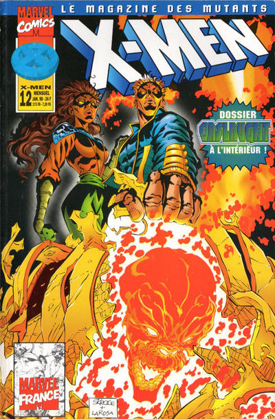 Cover for X-Men (Panini France, 1997 series) #12
