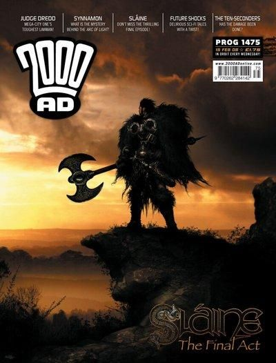 Cover for 2000 AD (Rebellion, 2001 series) #1475