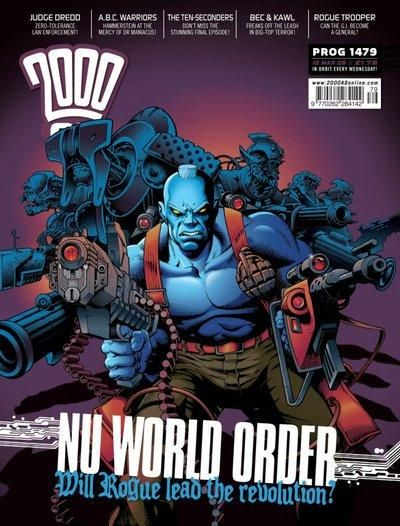 Cover for 2000 AD (Rebellion, 2001 series) #1479