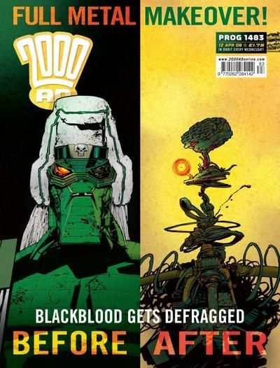 Cover for 2000 AD (Rebellion, 2001 series) #1483