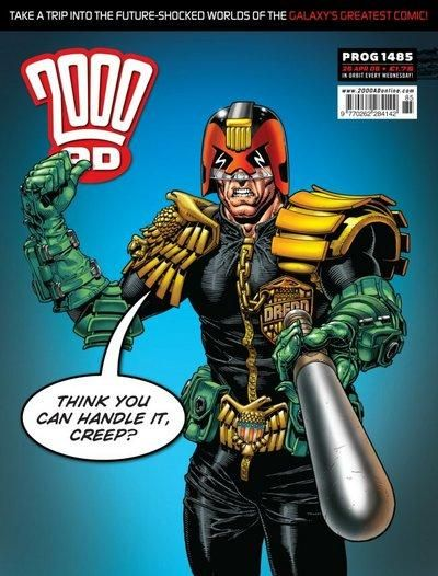 Cover for 2000 AD (Rebellion, 2001 series) #1485