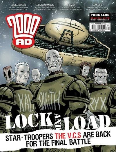 Cover for 2000 AD (Rebellion, 2001 series) #1486