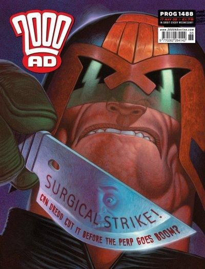 Cover for 2000 AD (Rebellion, 2001 series) #1488