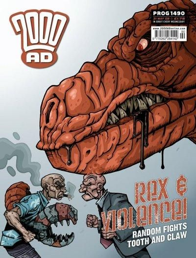 Cover for 2000 AD (Rebellion, 2001 series) #1490