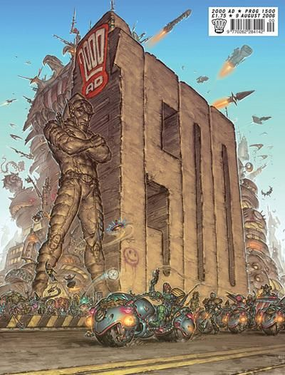 Cover for 2000 AD (Rebellion, 2001 series) #1500