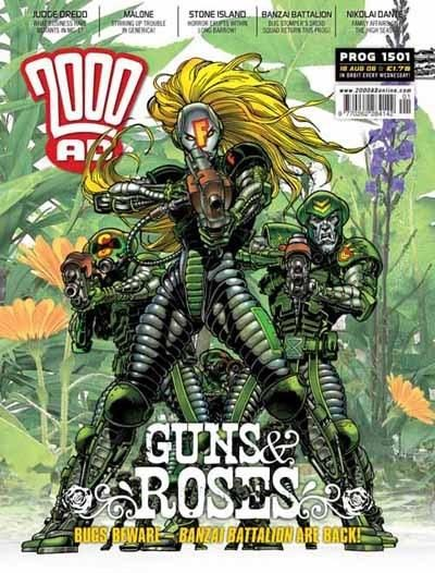 Cover for 2000 AD (Rebellion, 2001 series) #1501