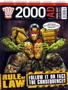 Cover for 2000 AD (Rebellion, 2001 series) #1607