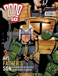 Cover Thumbnail for 2000 AD (Rebellion, 2001 series) #1503